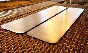 فولاد اکسین بزرگترین و مقاومترین ورق فولادی کشور را تولید کرد