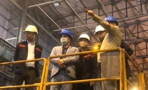 بهبهانی: تلاش می کنیم مقدمات اتصال فولاد اکسین خوزستان به شبکه ریلی کشور انجام گیرد