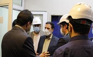 بازدید مدیرکل حراست صندوق بازنشستگی کشوری از نیروگاه تبریز