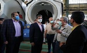 بازدید محسن بازارنوی و مدیران وصندوق از مپنا