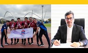 پیام تبریک مدیرعامل هلدینگ صباانرژی به مناسبت افتخارآفرینی تیم دو و میدانی پتروشیمی جم